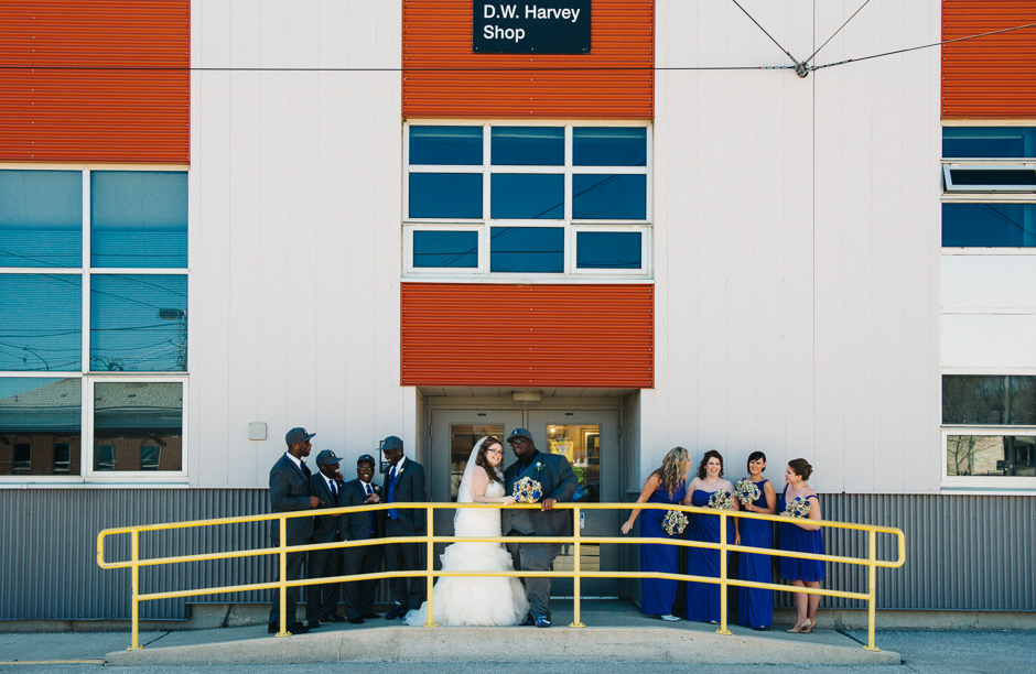 TTC Hillcrest Streetcar Wedding - Kim and Kevin - Paradise Banquet Hall - Vaughan Ontario