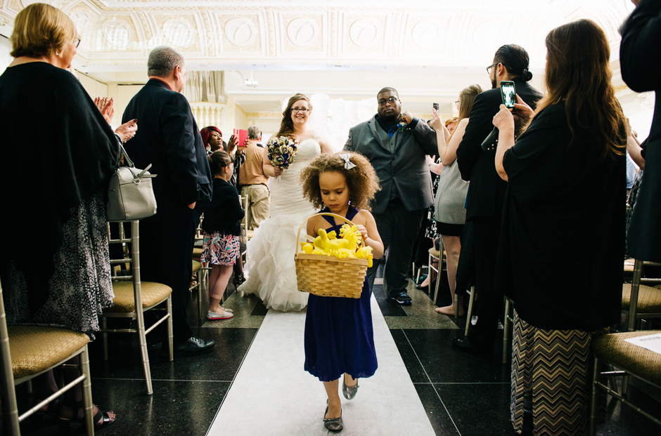 Flower Girl - Kim and Kevin - Paradise Banquet Hall - Vaughan Ontario