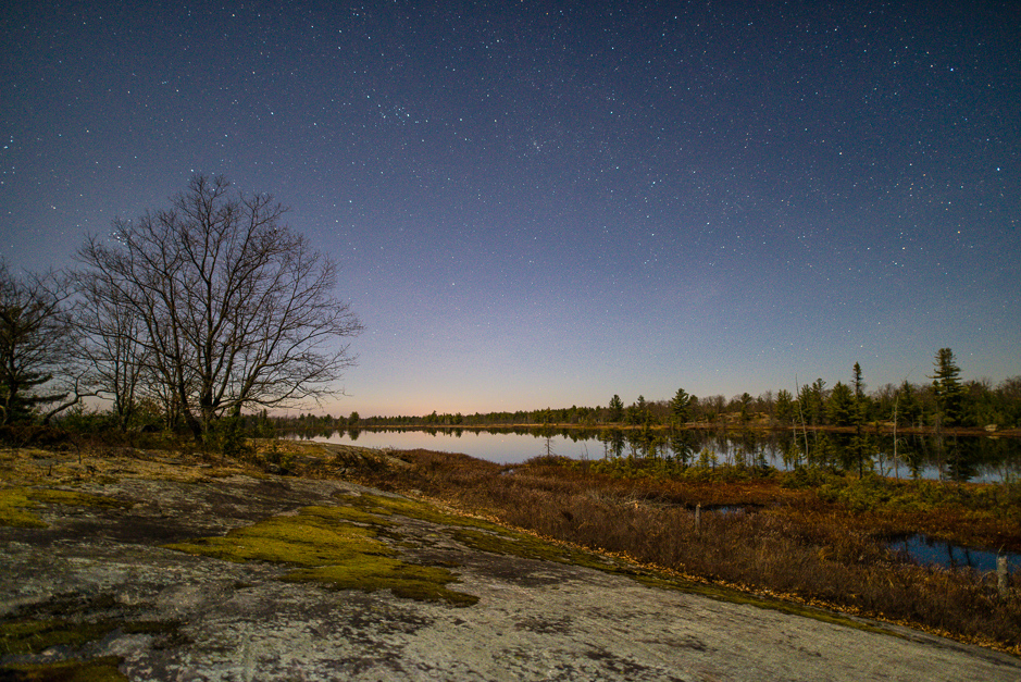 Stars over Torrance Barrens Dark Sky Preserve