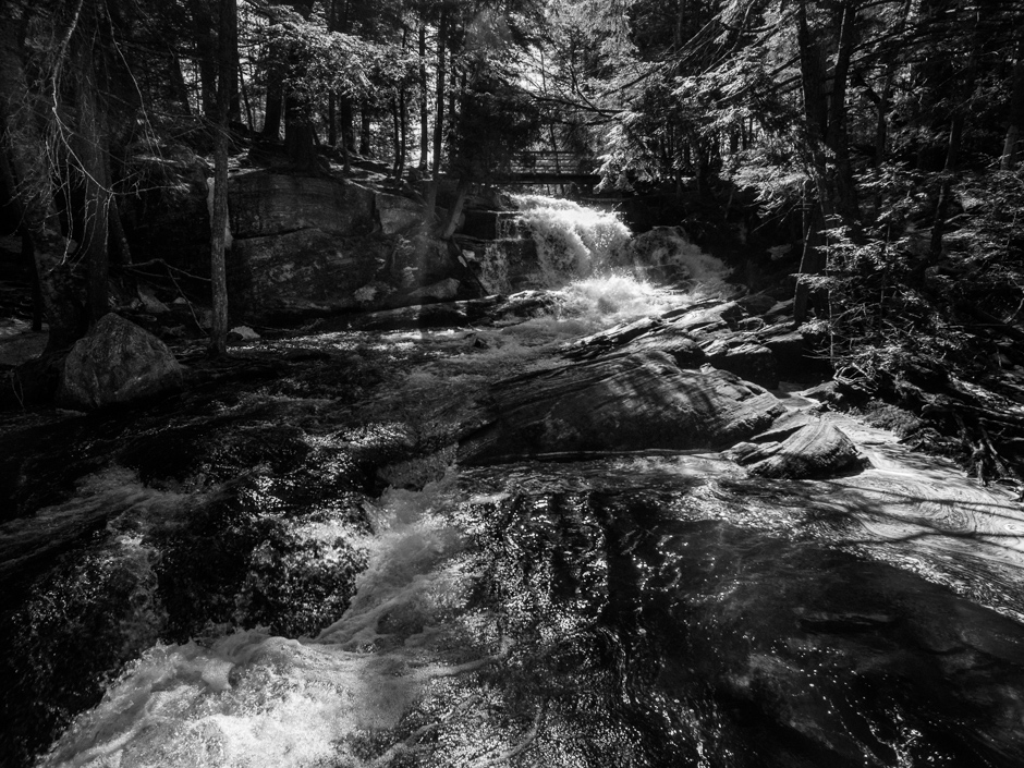 High Falls in Bracebridge