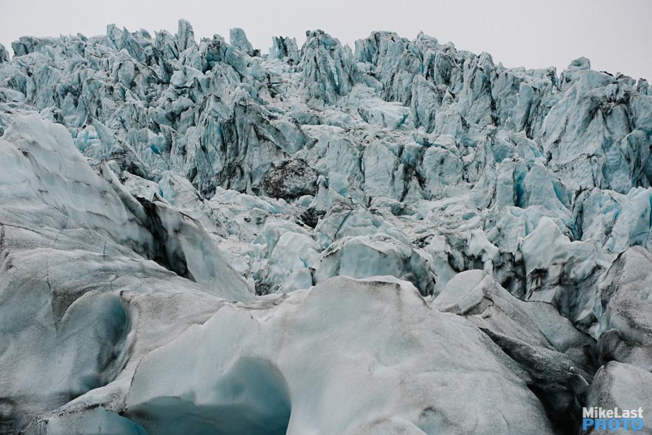Skaftafell Glacier Hike Séracs