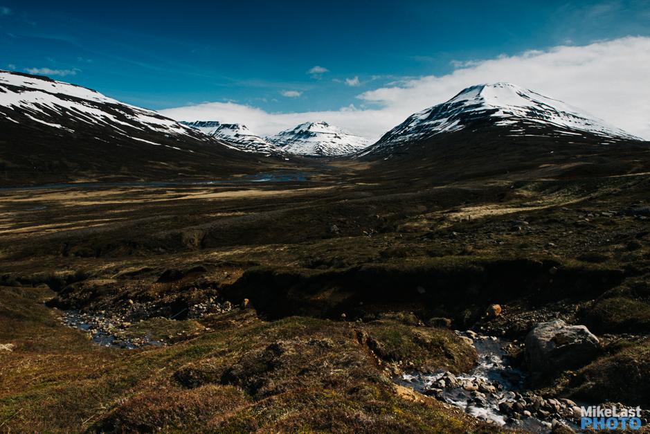 The Road into Mjóafjarðarheiði