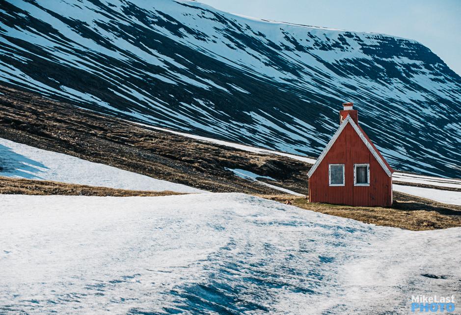 The Mountain Hut to Seyðisfjörður