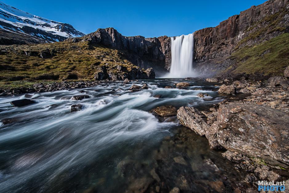 Gufufoss on the Road to Seyðisfjörður