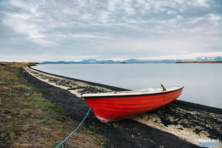 Row Boat Myvatn