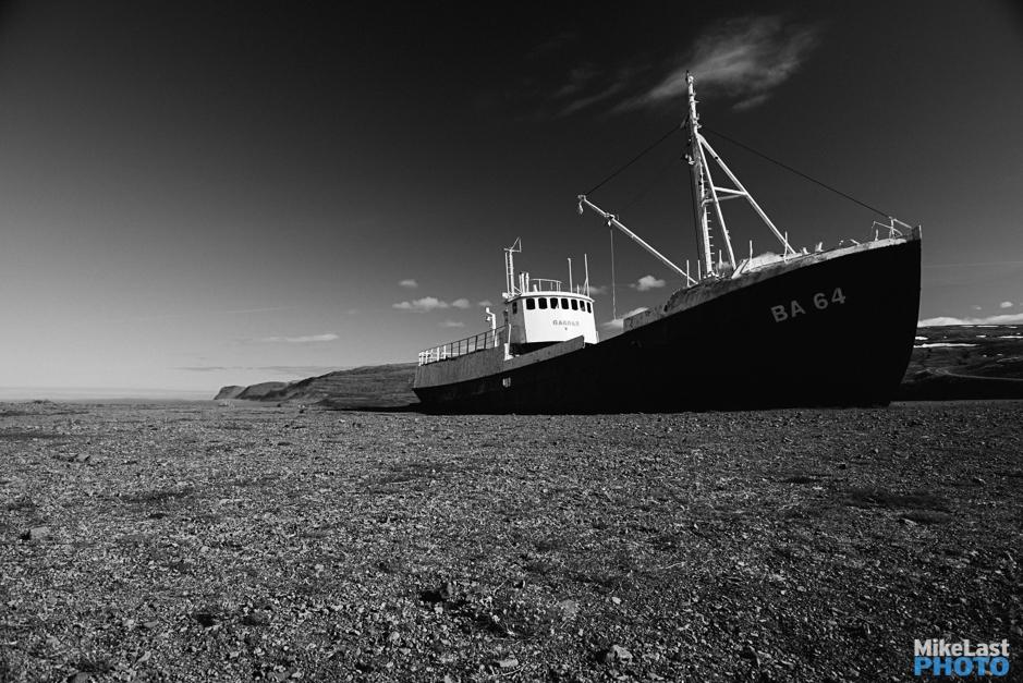 Skapadalsfjall - Garðar BA 64 Shipwreck