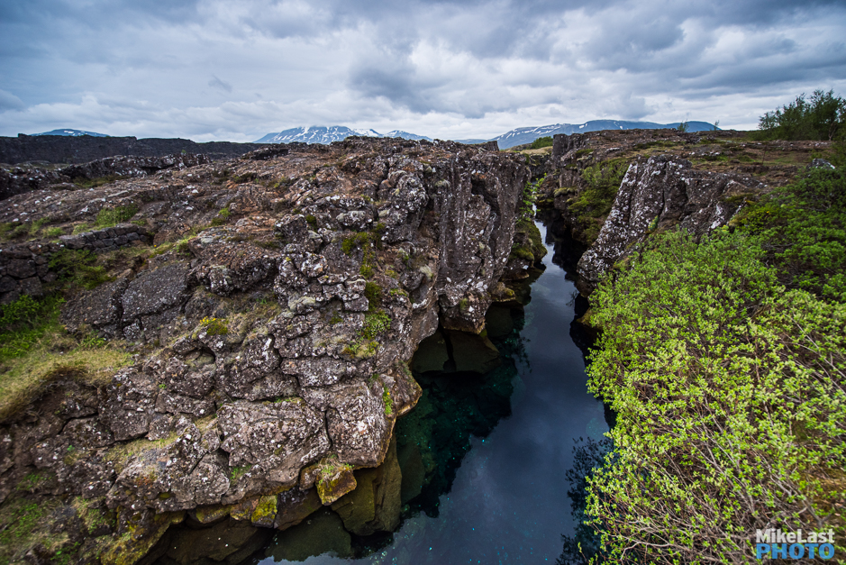 Thingvellir National Park Continental Divide