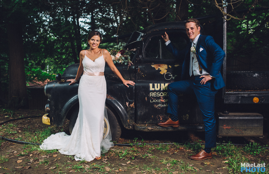 Brad and Emma - Wedding at Lumina Resort, Muskoka