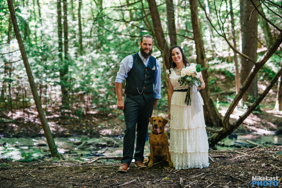 Ashleigh and Jarrod - Ganaraska Forest Centre Wedding