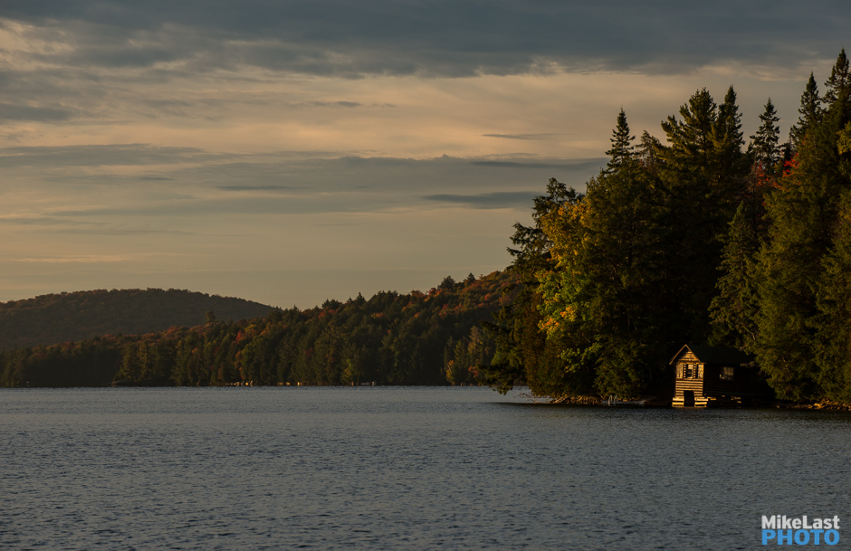 Boat House on Smoke Lake, Algonquin Park