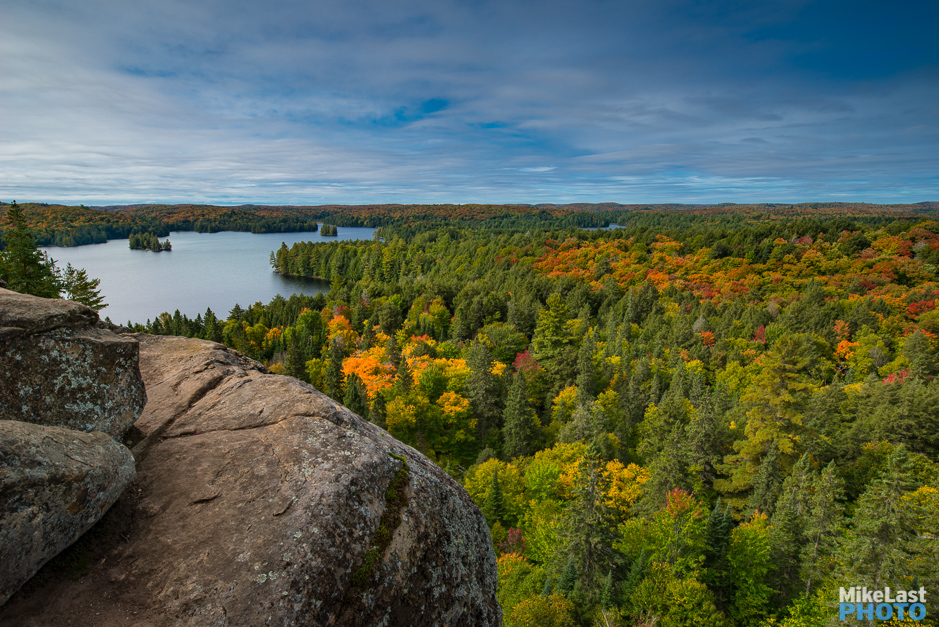 Fall View of Cache Lake on Track and Tower Trail, Algonquin Park