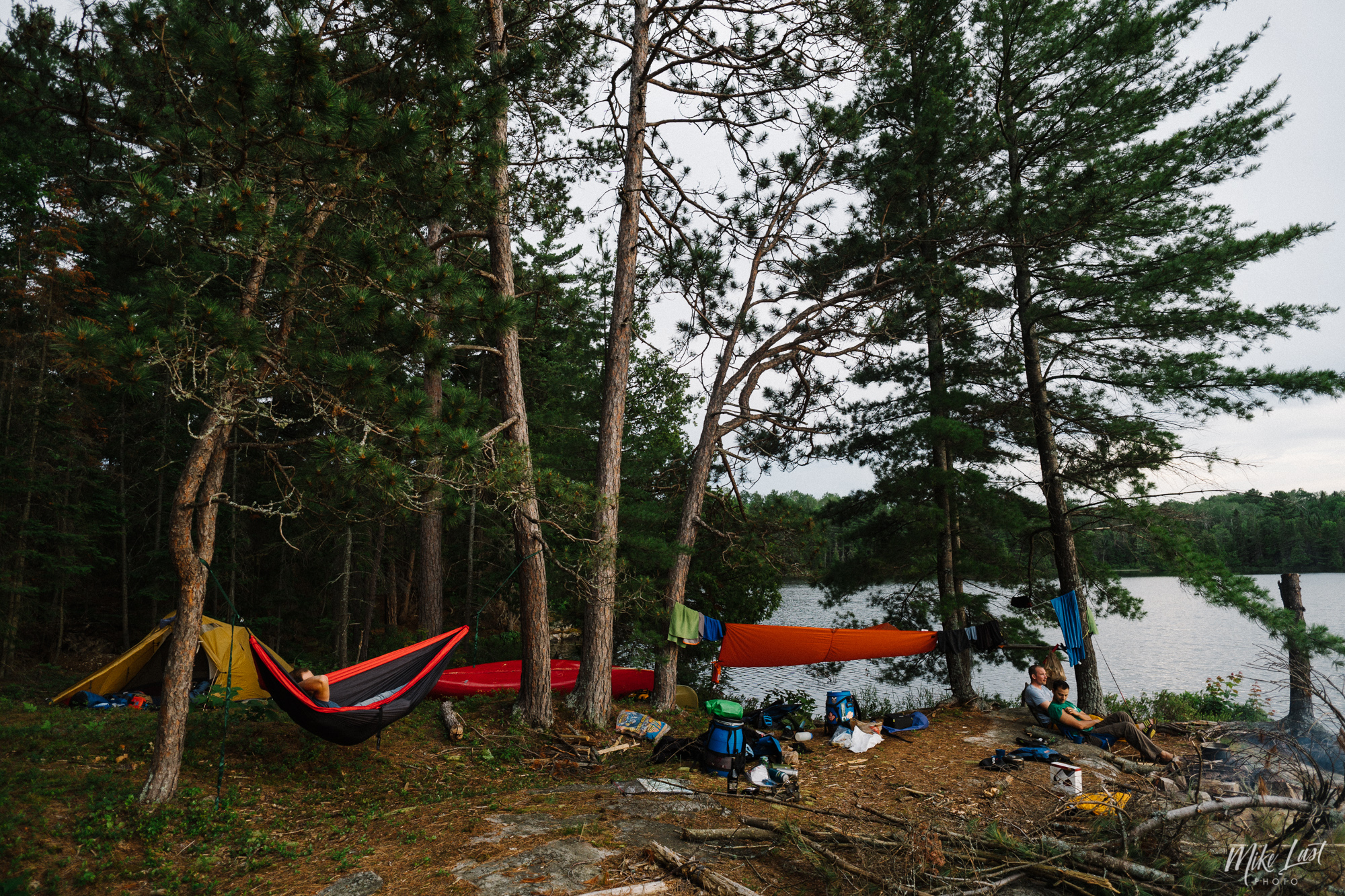 Grassy Bay - Night 1 - Killarney Provincial Park