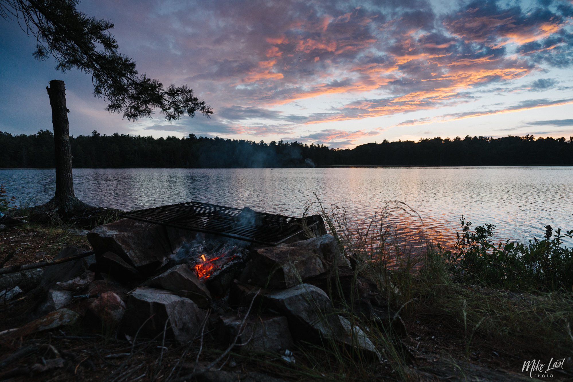 Grassy Bay - Night 1 - Killarney Provincial Park, Ontario, Canada