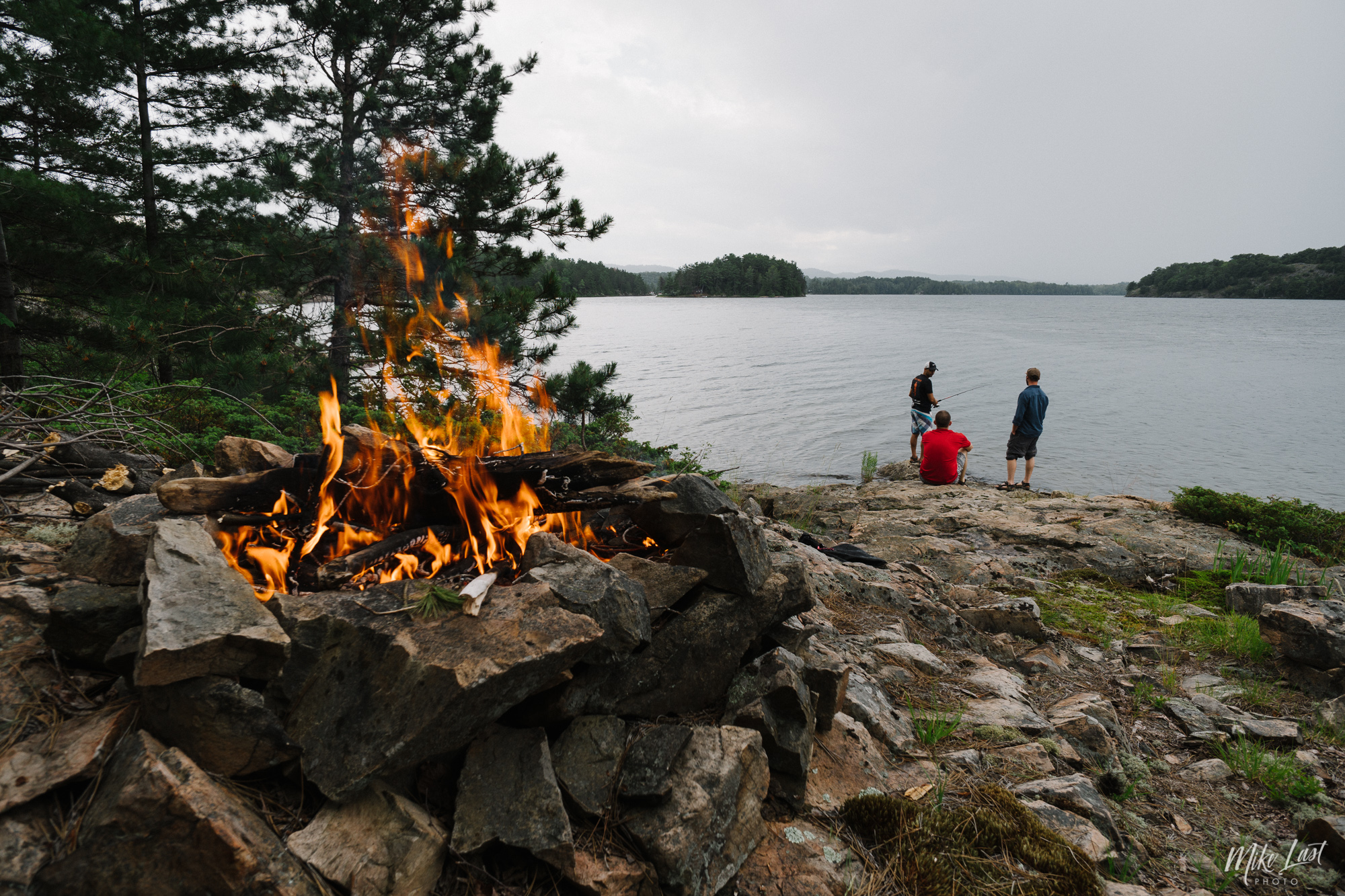 Camp Site on Bear Lake - Killarney Provincial Park