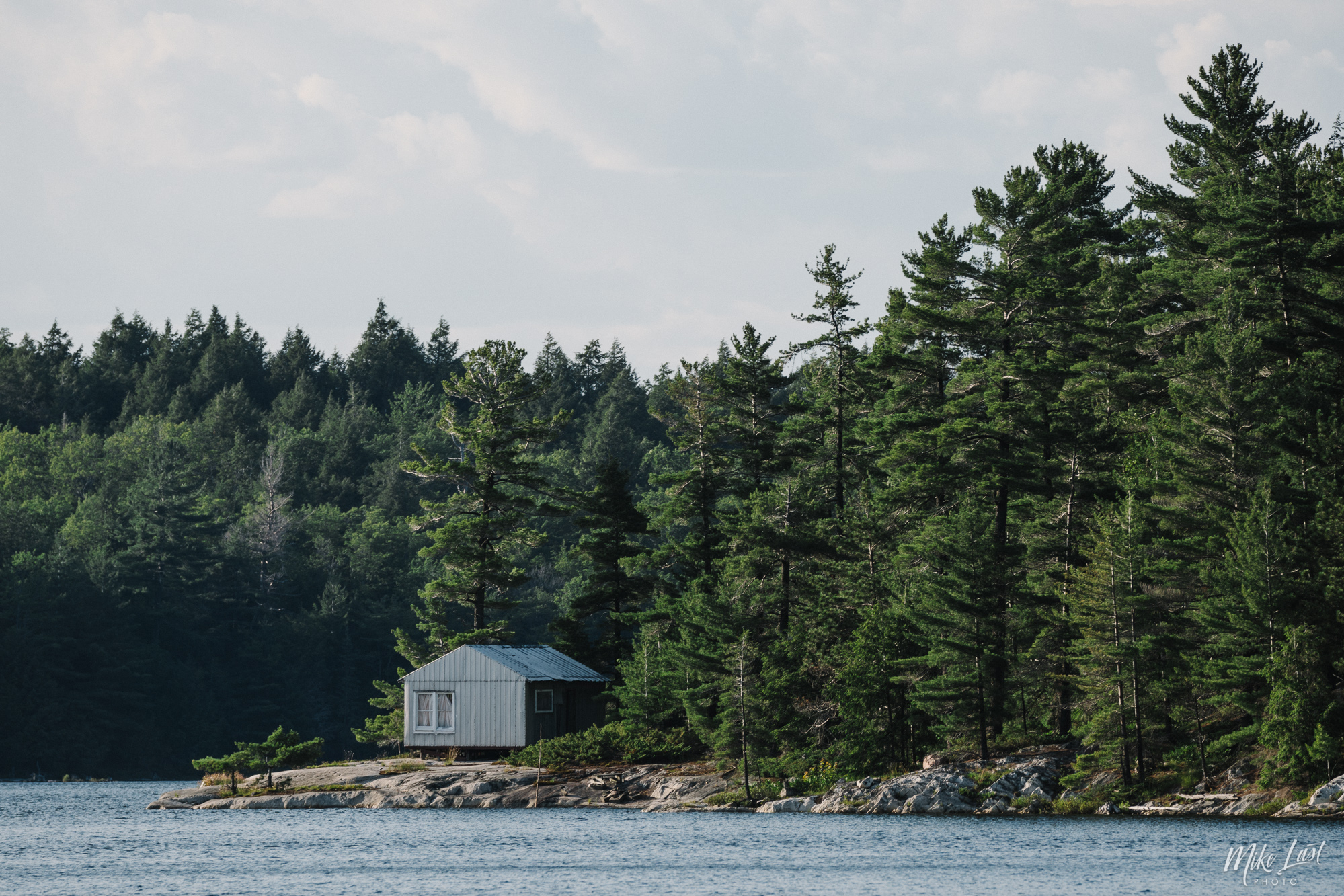 Cabin on Great Mountain Lake - Killarney Provincial Park