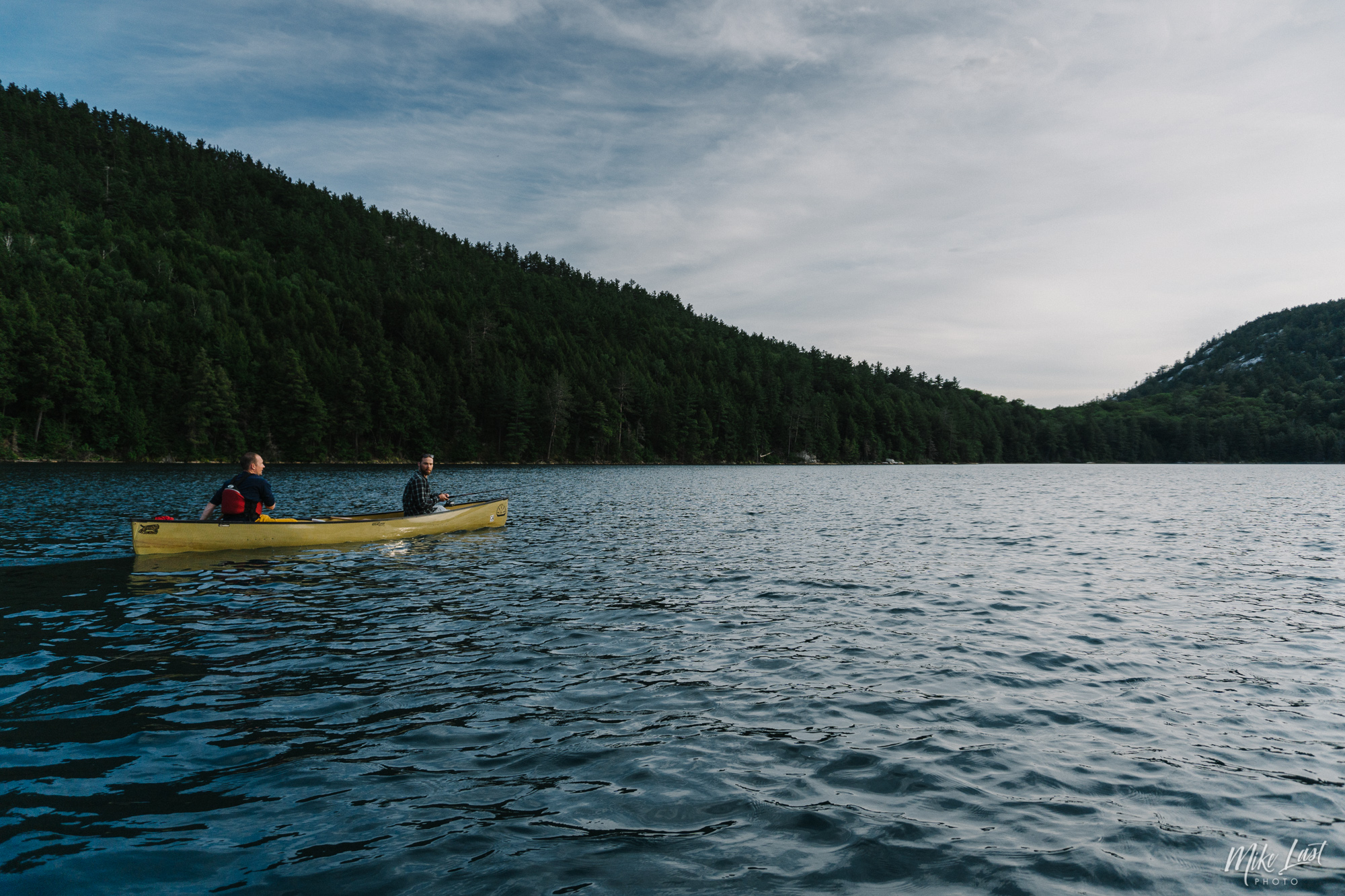 Paddle on Little Mountain Lake - Killarney Provincial Park