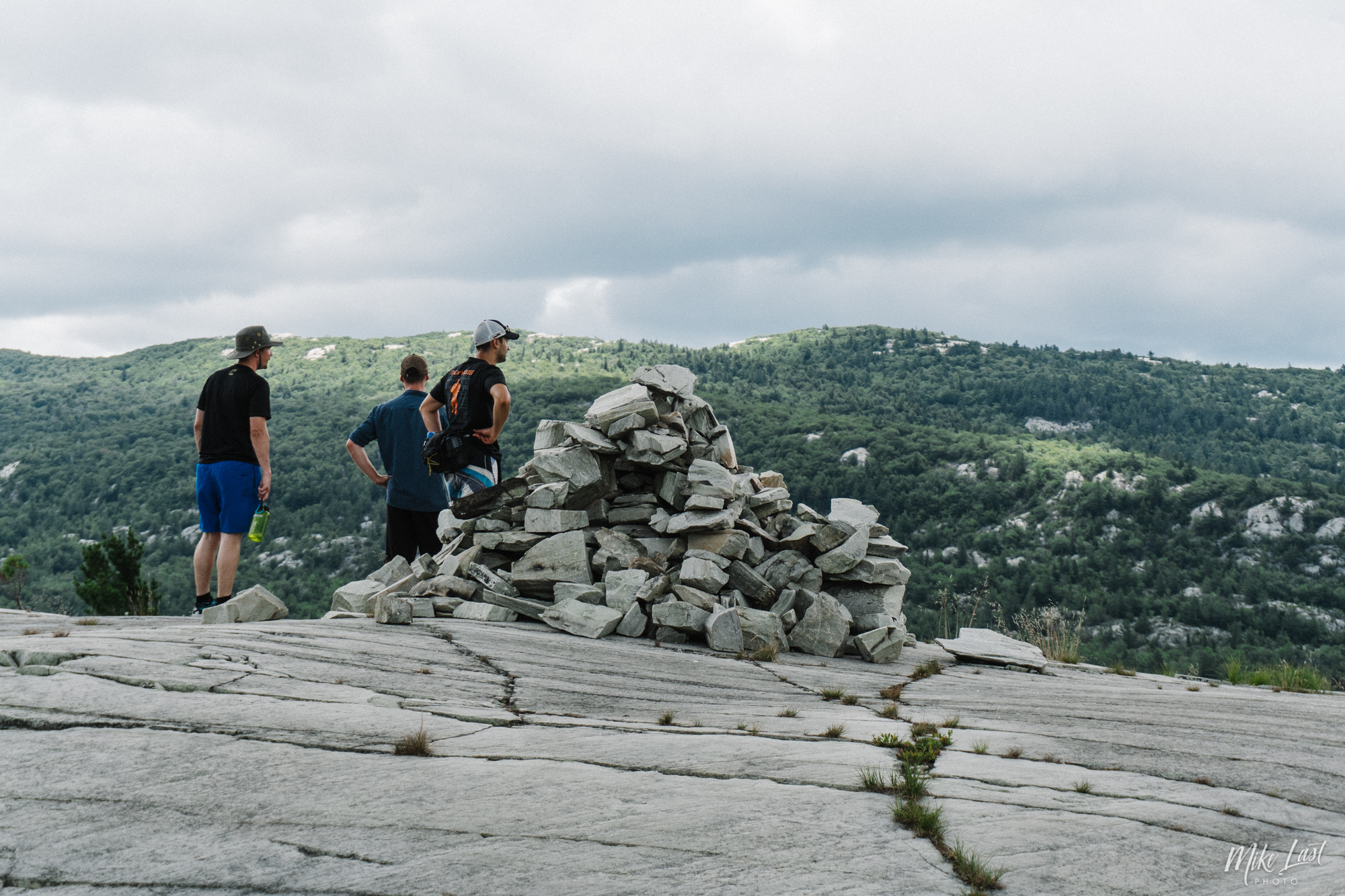 Hiking to Silver Peak - Killarney Provincial Park