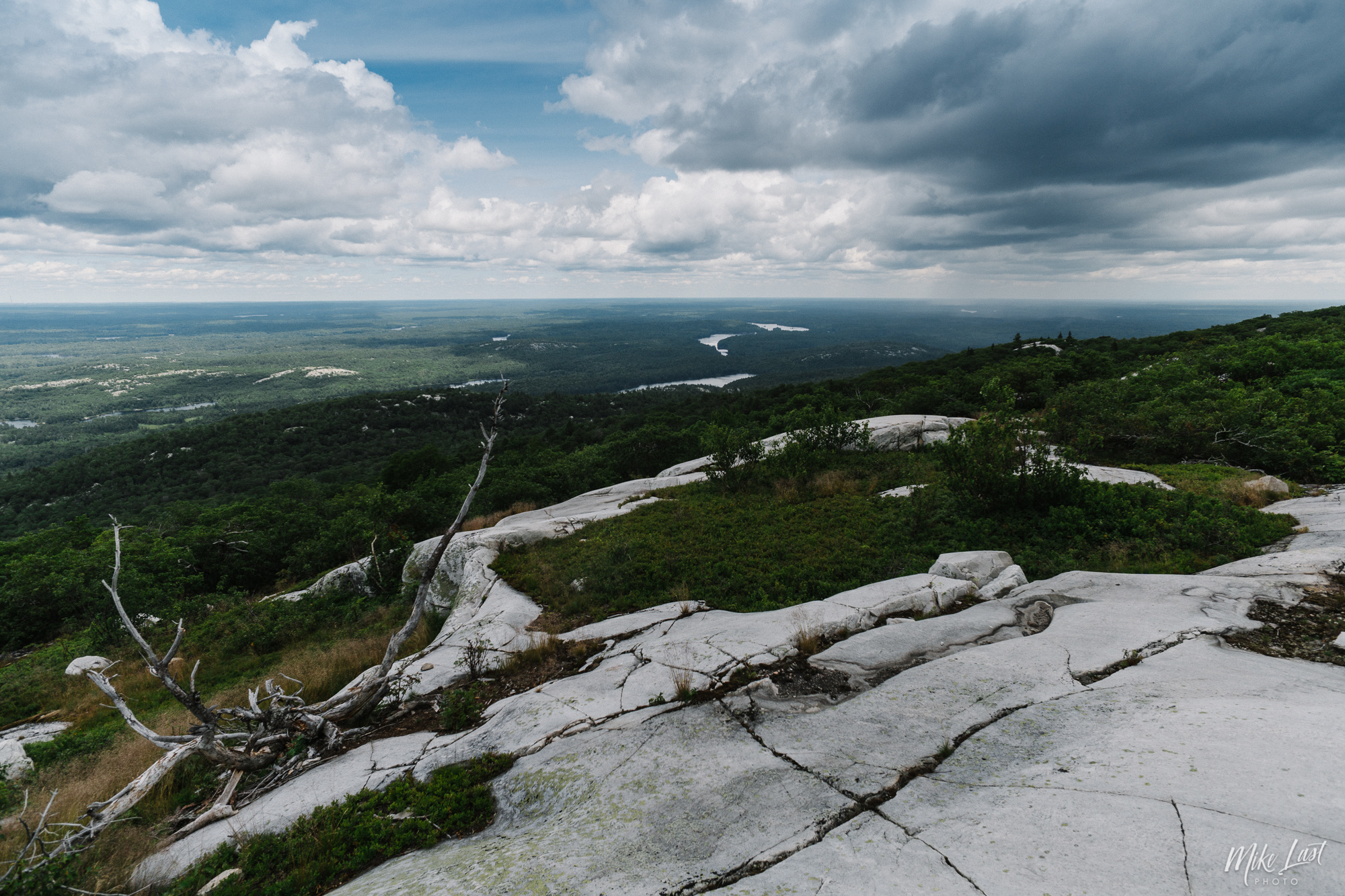 Summit of Silver Peak - Killarney Provincial Park