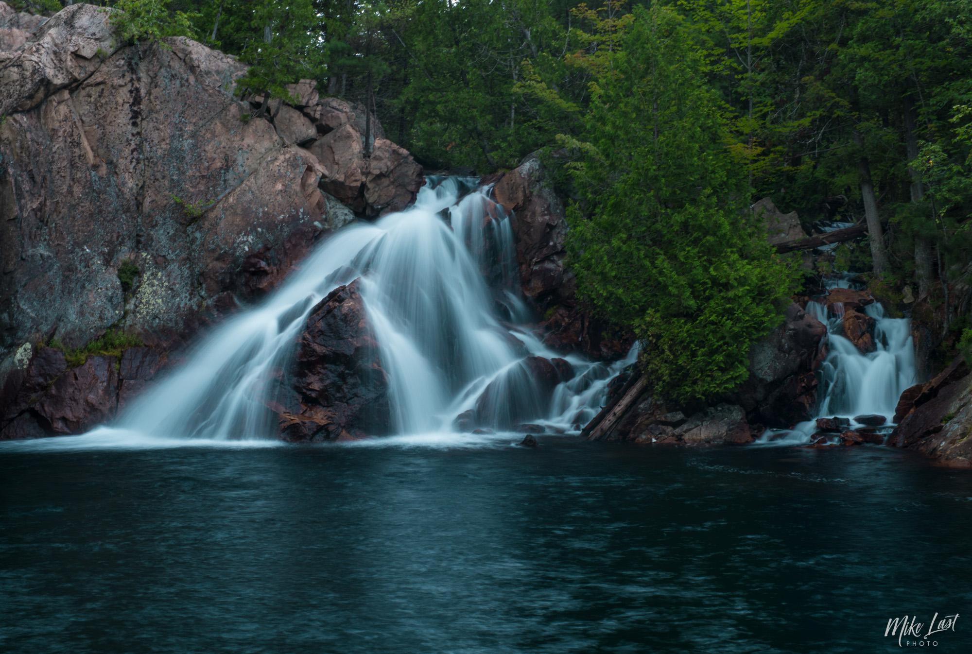 Paradise Lagoon Waterfall - Temagami, Ontario