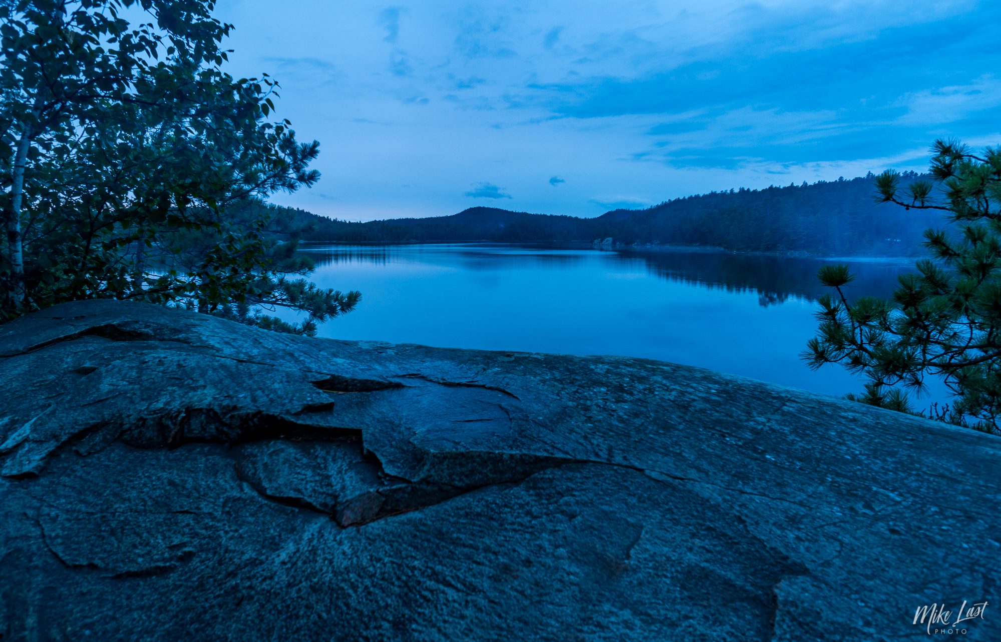 Campsite Cliff Lookout on Wolf Lake - Temagami, ON Canoe Trip