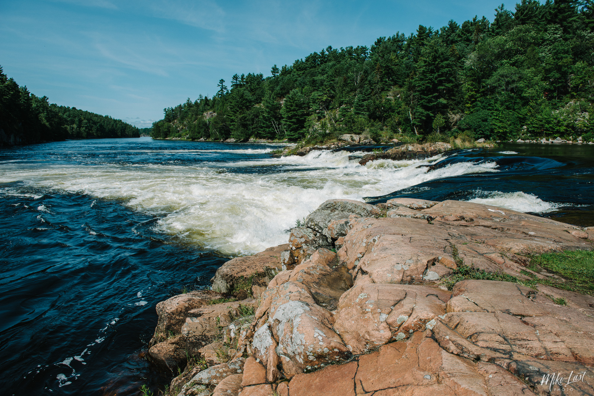 Recollet Falls on the French River