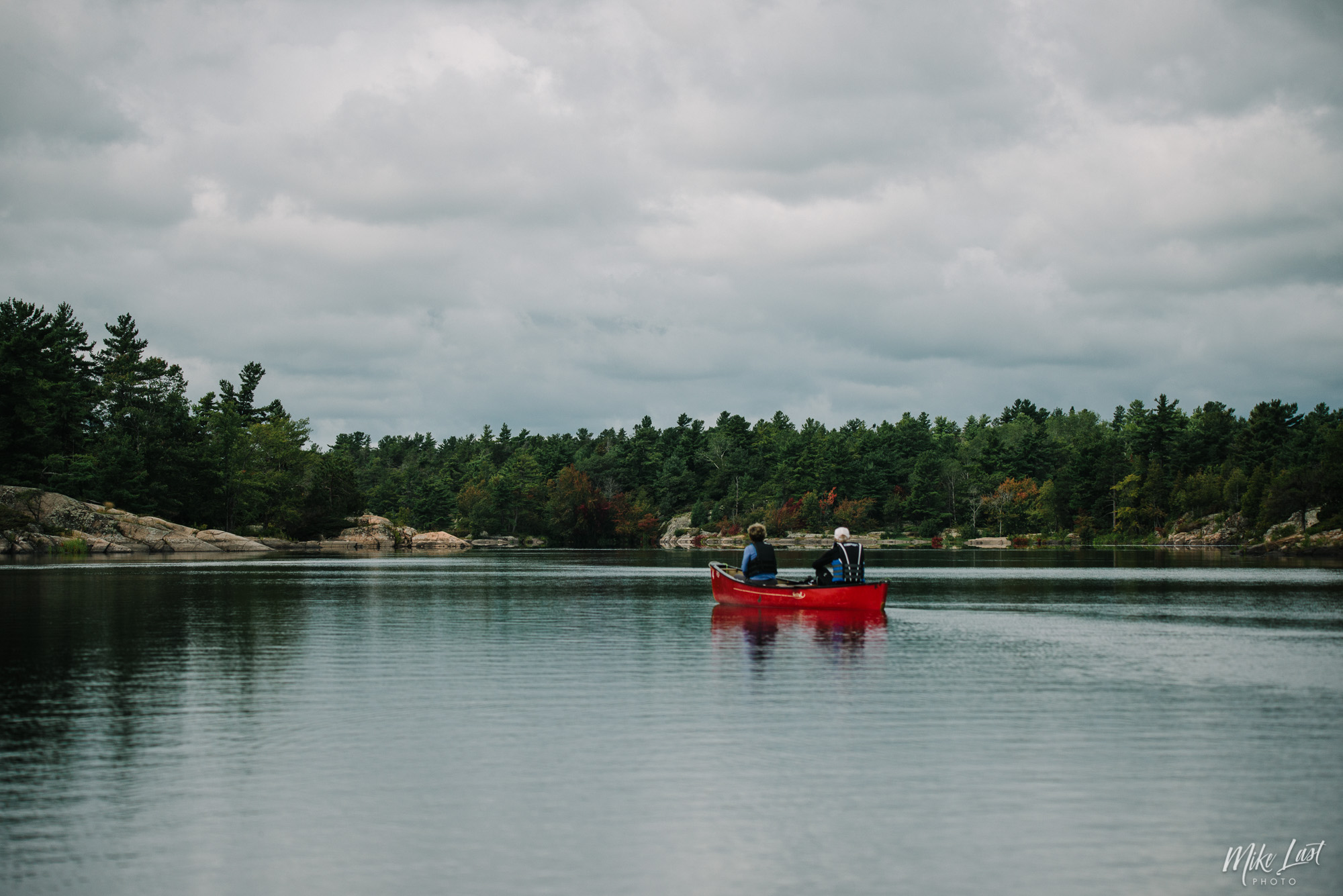 Paddling Through French River Provincial Park