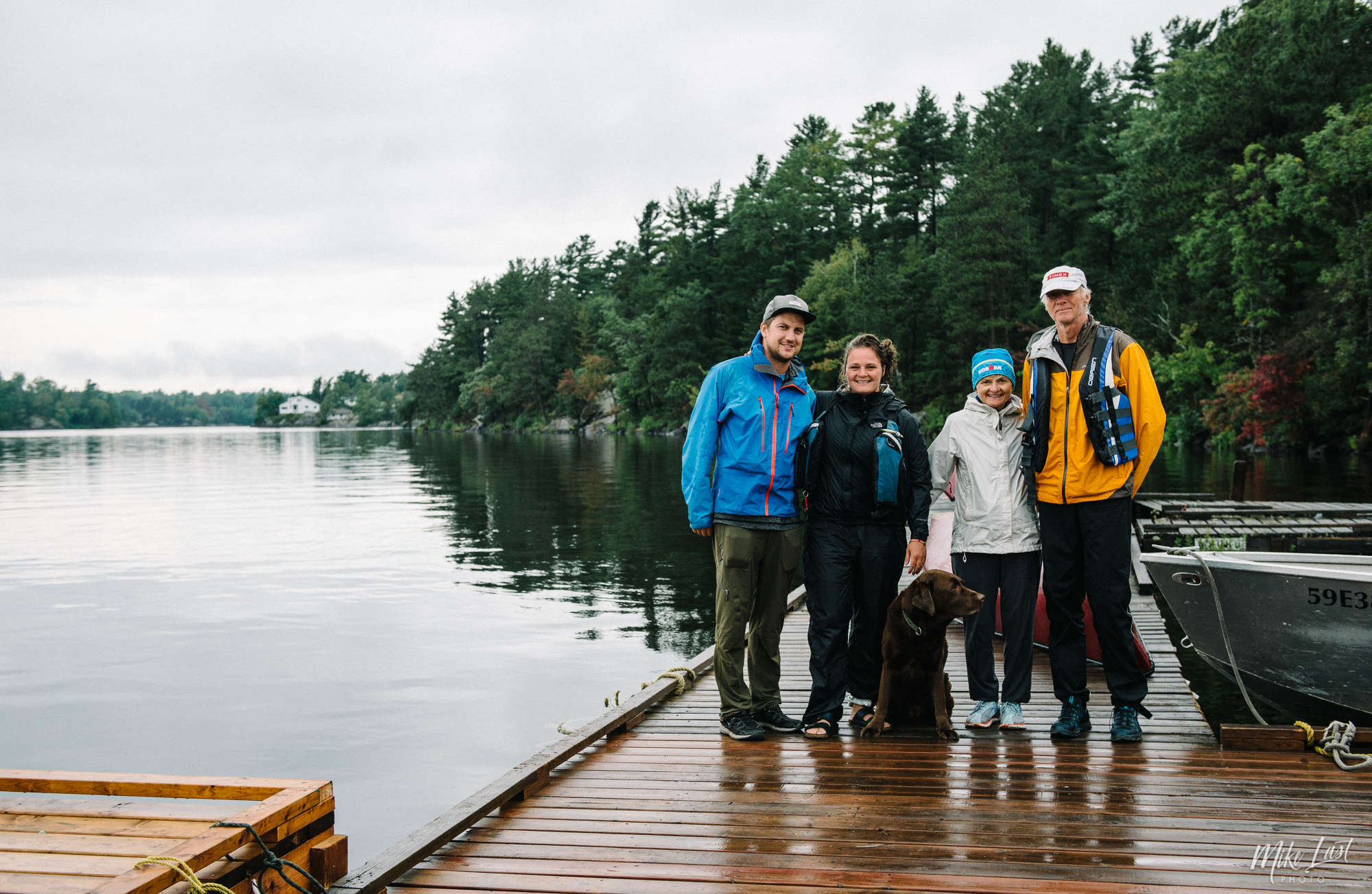 Canoe trip ends at Hartley Bay Marina - French River Provincial Park