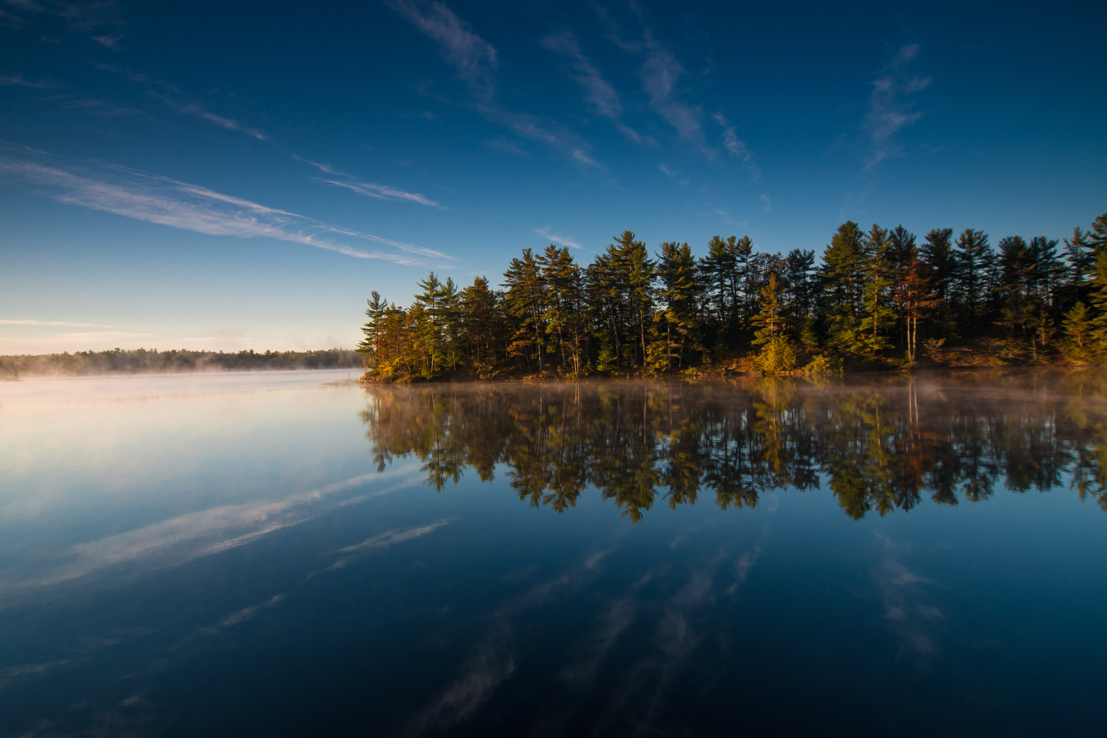 Fall Reflections on Muldrew Lake, Gravenhurst
